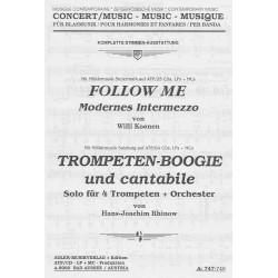 Trompeten-Boogie und cantabile