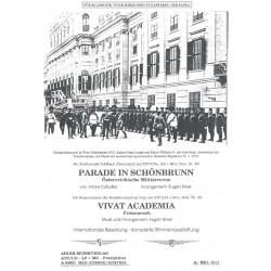 Parade in Schönbrunn