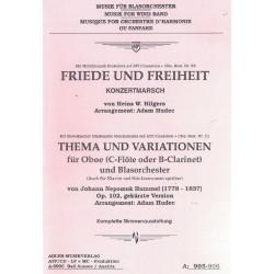 Thema und Variationen für Oboe (Op. 102 - J.N. Hummel)