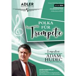 Polka für Trompete - Blasorchesterausgabe
